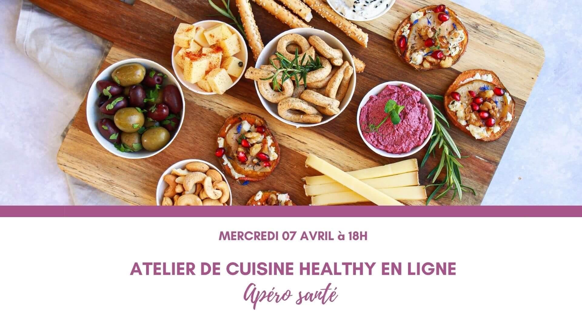 atelier cuisine apéro santé mint
