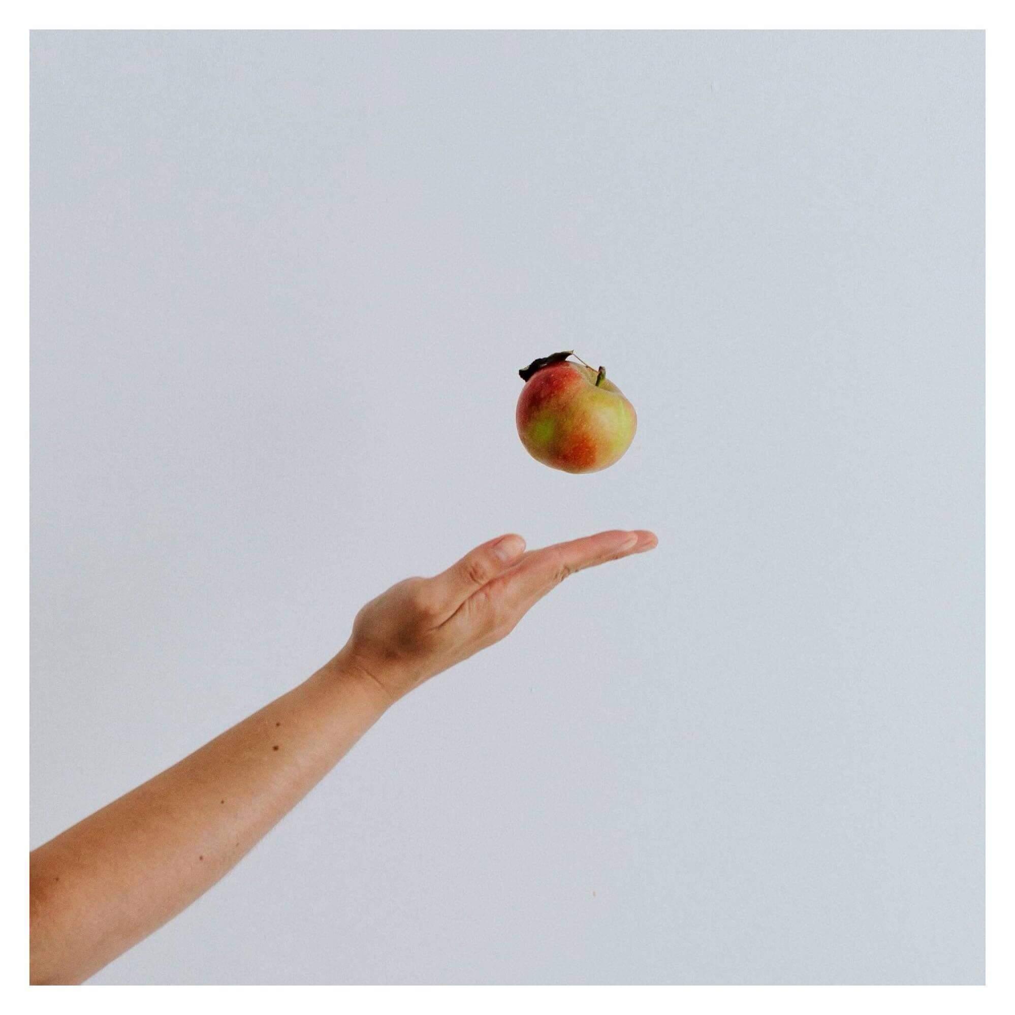 recette pomme healthy mint