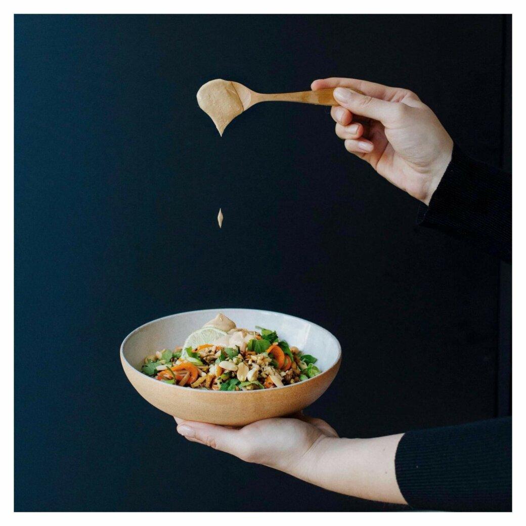 Merci Pad thaï veggie mint healthy