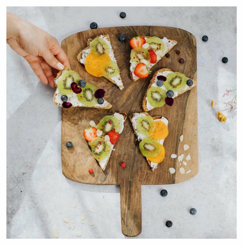 toasts healthy petit-déjeuner MINT