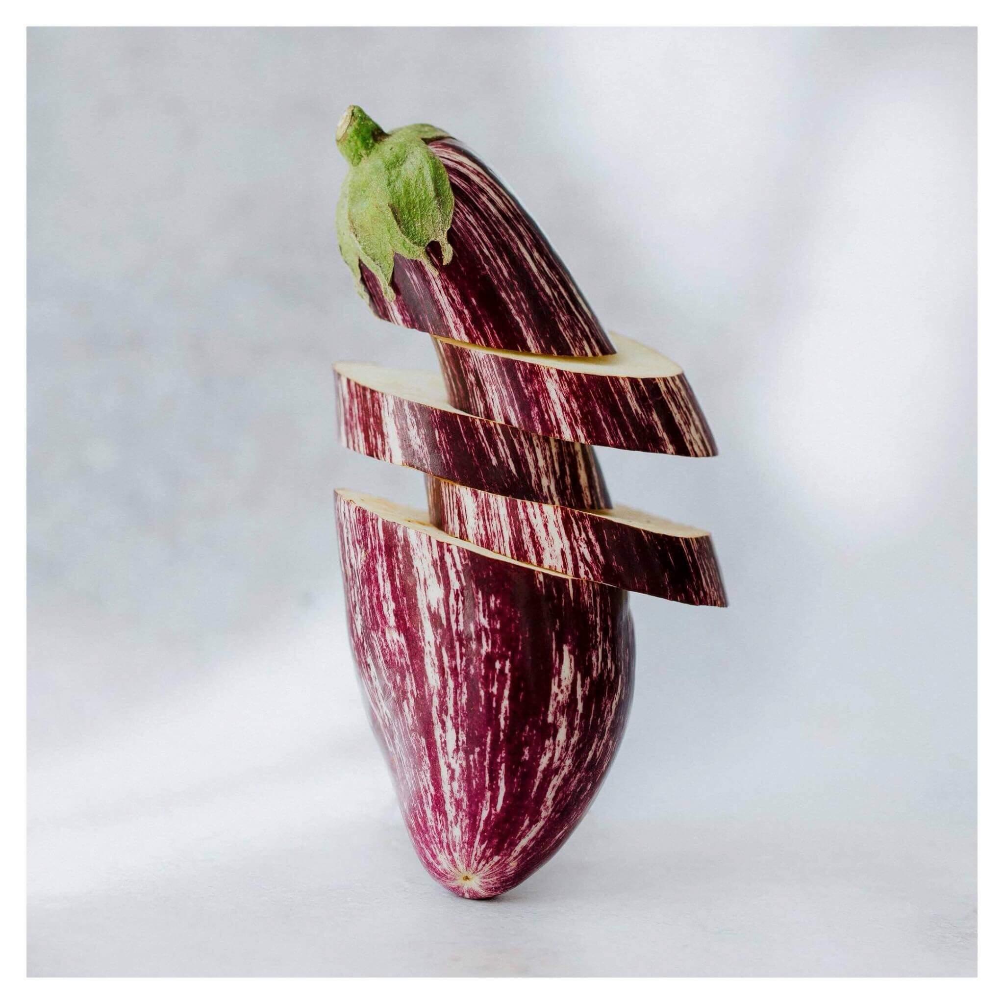 recette aubergine mint healthy