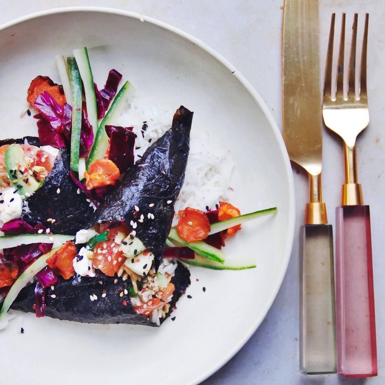 ornets façon asiatique mint healthy food
